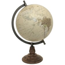 Traditional Globe on Arc Stand