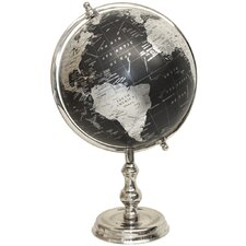 Large Traditional Globe on Metal Stand