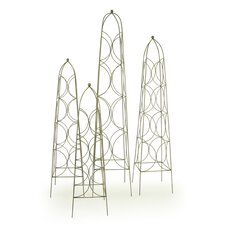 4 Piece Planter Trellis Set