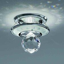 Small 1 Light Crystal Recessed Light