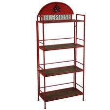 138 cm 4 Shelf Shelving Unit