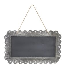 Rustic Metal Wall Chalkboard