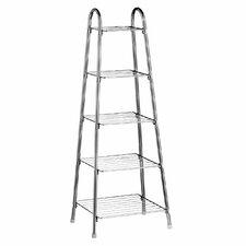 5 Tier Chrome Standing Pot Rack