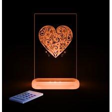 Kinderlampe Slim Light New Heart Koa