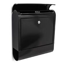 Letterbox with Newspaper Holder