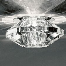 Medium 1 Light Crystal Recessed Light