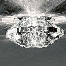 Medium 1 Light Crystal Recessed Light