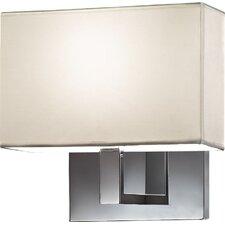 1 Light Semi-Flush Wall Light