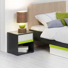 Inkar 1 Drawer Bedside Table