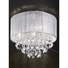 Royale 4 Light Flush Ceiling Light