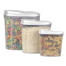6-Piece Single Canister Cereal Container Set
