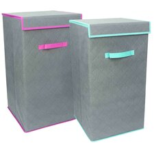 Quilted Non-woven Laundry Hamper