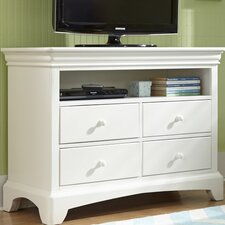 Neopolitan 4 Drawer Media Chest