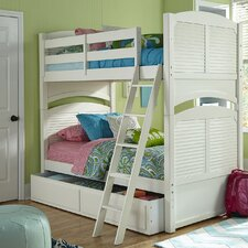 Neopolitan Full Bunk Bed with Storage