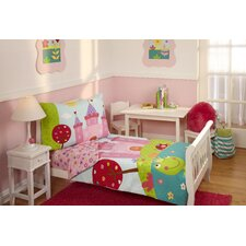 4 Piece Fairytale Toddler Bedding Set