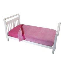 Solid Pink Toddler Coral Blanket