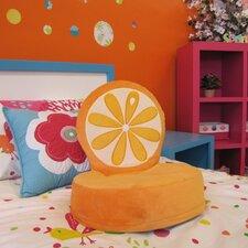 Critter Cushion Orange Kids Novelty Chair