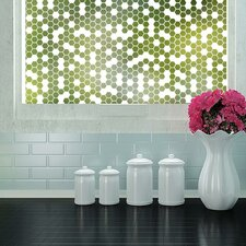 Honeycomb Privacy Window Film