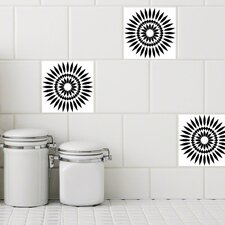 Retile Sunflower Wall Decal (Set of 10)