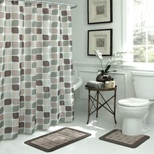 Zaragoza Geometric 15 Piece Bath Set