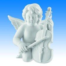 Dekorationsfigur Engel mit Cello Zeit für Engel