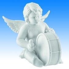 Dekorationsfigur Engel mit Basstrommel Zeit für Engel