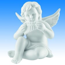 Dekorationsfigur Engel mit Panflöte Zeit für Engel