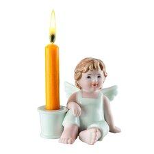 Kerzenleuchter Lilly & Max aus Porzellan