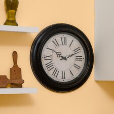 "Decorative Home 18"" Classic Roman Numeral Wall Clock"