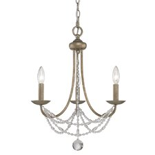 Atwood 3 Light Mini Chandelier