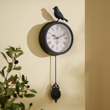 "6"" Bird Pendulum Wall Clock"