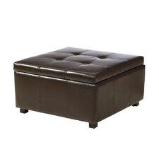 Ehlert Faux Leather Storage Ottoman