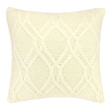 Newmanstown Cable Knit Throw Pillow