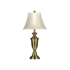 "Steel Table Almps 30.5"" H Table Lamp with Bell Shade (Set of 2)"