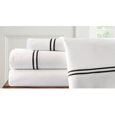 4 Piece Double Stripe Sheet Set
