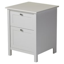 Ackerson 2 Drawer Filing Cabinet