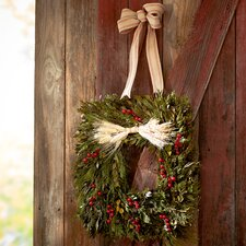 Bressler Harvest Square Wreath