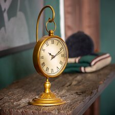 Shirley Hanging Brass Clock