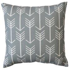 Rebersburg Arrow Cotton Throw Pillow