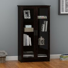 "Lyonsdale Glass Door 53.25"" Barrister Bookcase"