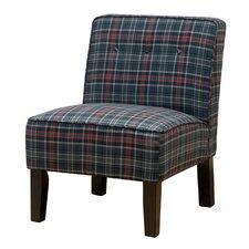 Laurens Slipper Chair in Neo Plaid