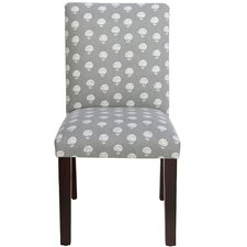 Scriba Parsons Chair in Hand Flora Graystone