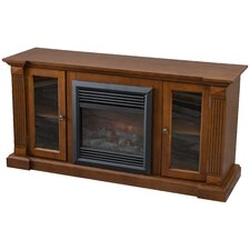 Entertainment Console Electric Fireplace