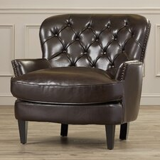 Worthington Tufted Upholstered Lounge Chair