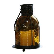 Wallingford Glass LED Candle Lantern