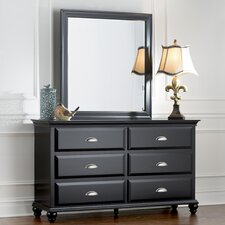 Centerville Rectangular Dresser Mirror by Simmons Casegoods