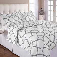 Prattsburgh 3 Pieces Duvet Cover Set