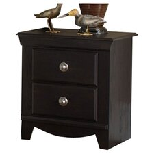 Prospect 2 Drawer Nightstand