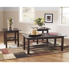 Amherst 3 Piece Coffee Table Set