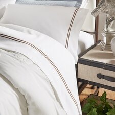 4 Piece Double Stripe Sheet Set